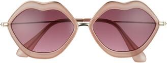 BP 57mm Lip Sunglasses