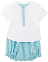 Petit Bateau Baby boy T-shirt and bloomers set