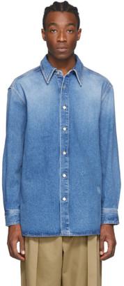 Loewe Blue Denim Shirt