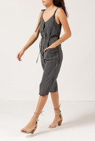 Azalea Striped Strappy Pocket Dress