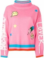 Mira Mikati Marshmallow Lover Turtleneck Knit
