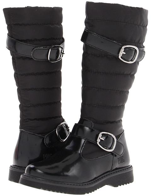 Primigi Sheffield FA12 (Little Kid) (Black) - Footwear