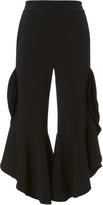 Jonathan Simkhai Cropped Ruffle Pants