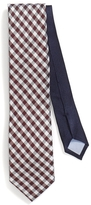 Tommy Hilfiger Classic Width Contrast Gingham Tie