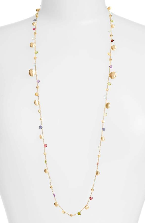 Marco Bicego Paradise Semiprecious Stone Long Strand Necklace