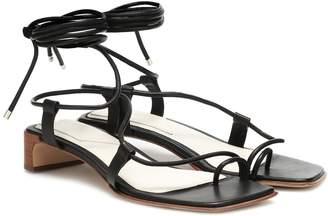 Rag & Bone Cindy Tie leather sandals