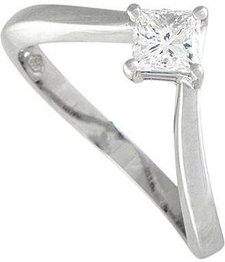 Damiani Certified Platinum 0.56 Ct. Tw. Diamond Ring