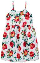 Joe Fresh Floral Ruffle Dress (Little Girls & Big Girls)