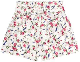 MonnaLisa Floral-printed shorts