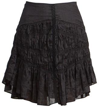 Isabel Marant Sidney Short Ruched Skirt