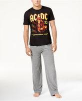 Bioworld Men's AC/DC Pajama Set