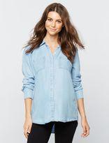Splendid Button Front Maternity Shirt