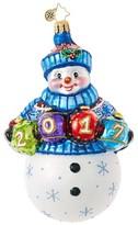 Christopher Radko A Fun Frosty Year Glass Ornament