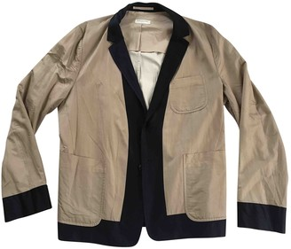 Dries Van Noten Beige Cotton Jackets