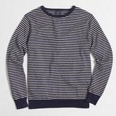 J.Crew Factory Striped harbor cotton crewneck sweater