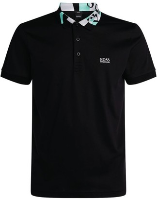 HUGO BOSS POLO SHIRT NEW BNWT MENS PADDY POLO TOP T-SHIRT BLACK SIZE XL