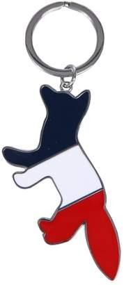 MAISON KITSUNÉ Tricolor Fox Keyring