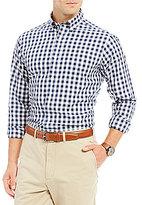 Daniel Cremieux Check Poplin Long-Sleeve Woven Shirt