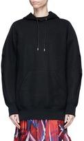 Sacai Zip back oversized hoodie