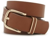 Forever 21 FOREVER 21+ Classic Faux Leather Belt