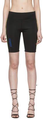 Miaou Black Alix Bike Shorts