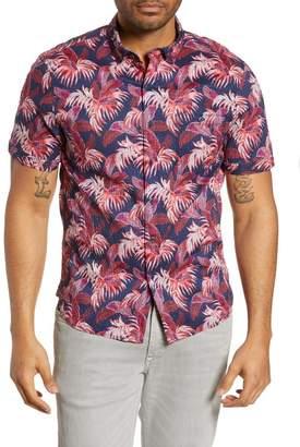 Tommy Bahama Fenua Fronds Classic Fit Sport Hawaiian Shirt