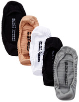 Steve Madden Mesh No Show Footies -\n Pack of 5