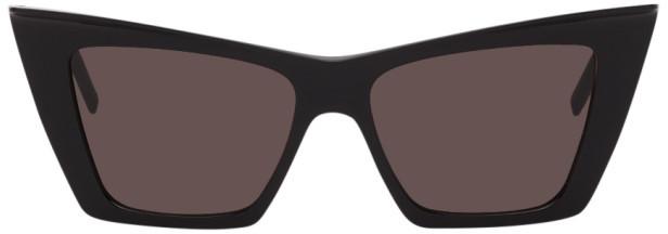 Saint Laurent Black Angular SL 372 Sunglasses