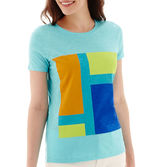 JCPenney STYLUS Stylus Short-Sleeve Slub Knit Graphic T-Shirt - Tall