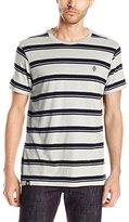 Akademiks Men's Kevin Striped T-Shirt