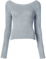 Derek Lam 10 Crosby back detail sweater - women - Cashmere/Wool - XS