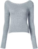 Derek Lam 10 Crosby back detail sweater