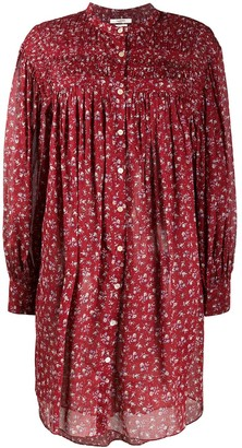 Etoile Isabel Marant Floral Print Cotton Dress