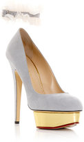 Charlotte Olympia Dolly signature ankle detail shoes