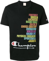 Champion printed logo T-shirt - men - Cotton - XL