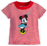 Disney Minnie Mouse Striped Tee for Baby