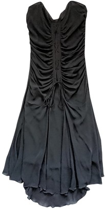 Ungaro Black Silk Dresses