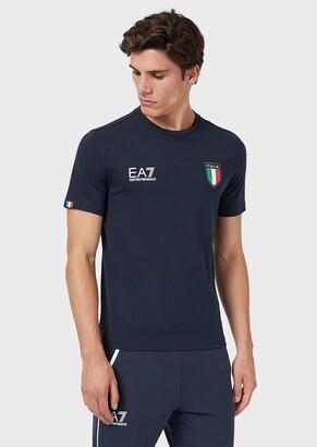 Ea7 Team Italia T-Shirt