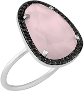 Black Diamond Christina Debs Hard Candy Pink Opal and ring