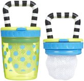 Sassy Teething Feeder - Blue/Green - 2 ct