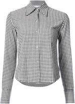 Helmut Lang checked shirt