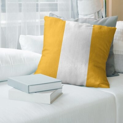 Artverse Detroit Basketball Striped Floor Pillow Color Gray Blue White Size 30 X 30 Shopstyle