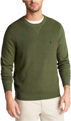 Nautica Men Navtech Crewneck Solid Sweater