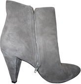 Marc Jacobs Grey Suede Ankle boots