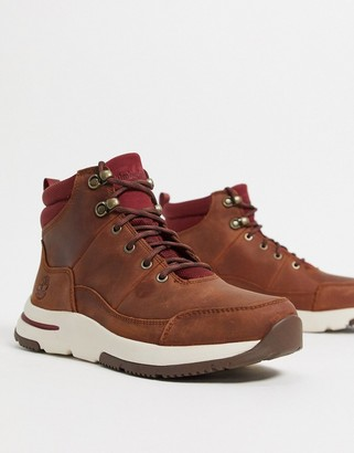 Timberland mabel town hiker boots in tan