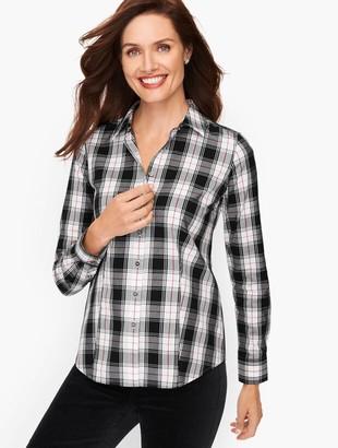 Talbots Perfect Shirt - Jolly Plaid