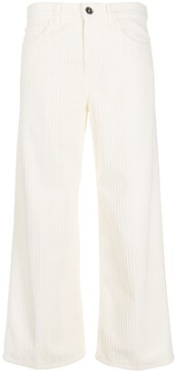 Nine In The Morning Corduroy Cropped Trousers