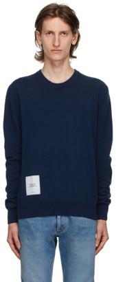 Maison Margiela Blue Cashmere Sweater