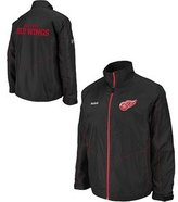 Reebok Detroit Red Wings Center Ice Full Zip Lightweight Jacket