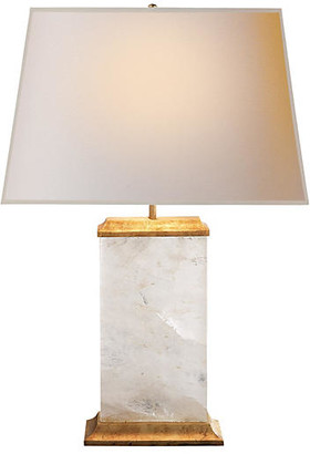 Crescent Table Lamp - Antiqued Gold - Visual Comfort